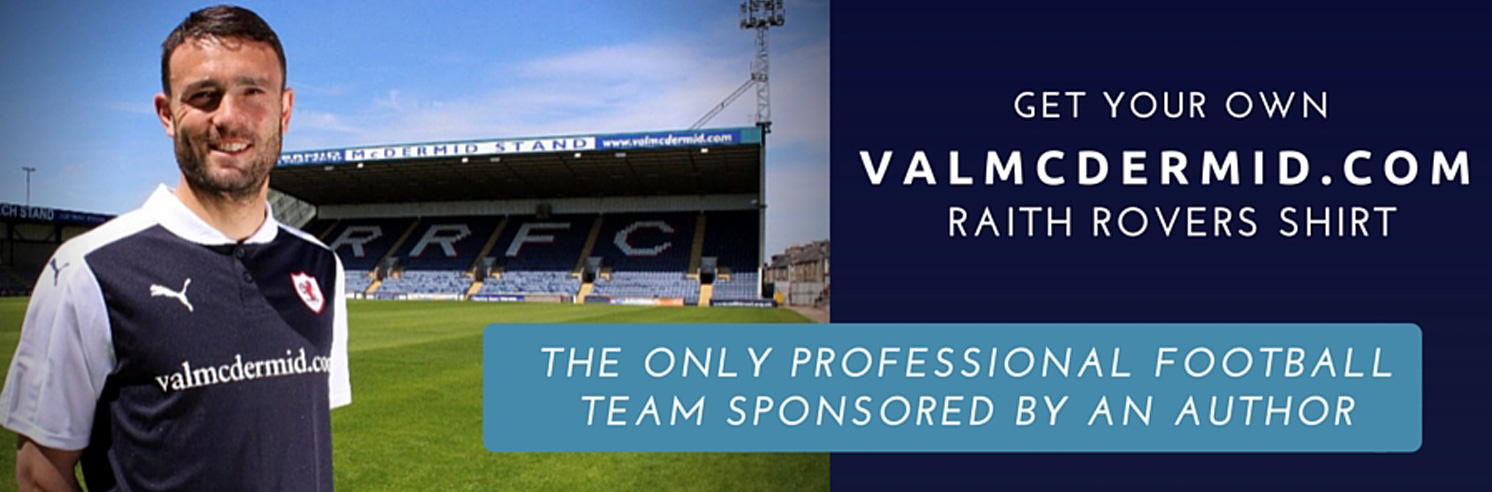 Get your own Val McDermid Raith Rovers shirt
