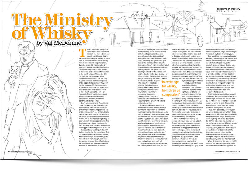 Vals Short Story The Ministry Of Whisky
