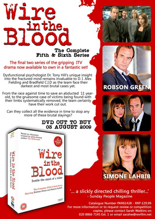 Wire in the Blood – complete fifth and sixth series
