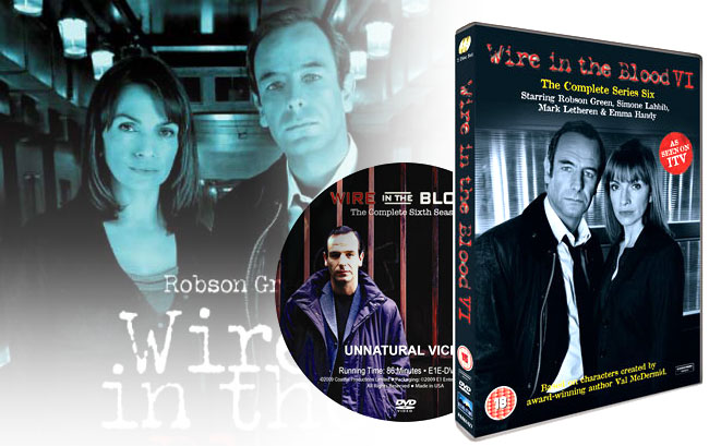 Wire in the Blood – complete series six on DVD
