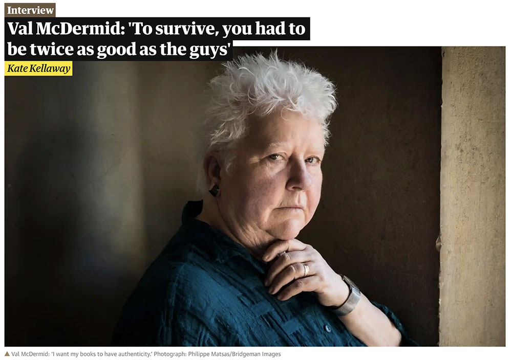 Guardian Interview with Val McDermid