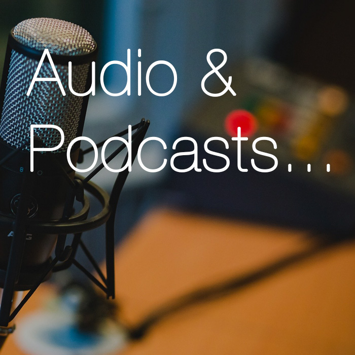 Media Home audio and podcasts