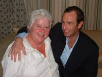 Robson Green and Val