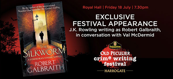 Old peculier Crime Writing Festival 2014