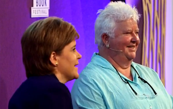 Val and Nicola Sturgeon
